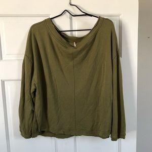 NWT free people pullover
